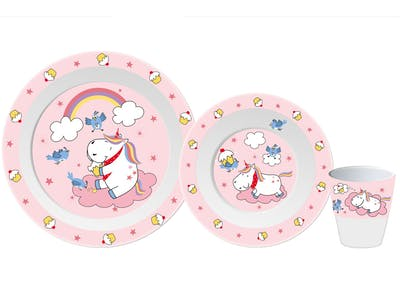 Gimex Unicorn Kids Tableware Set