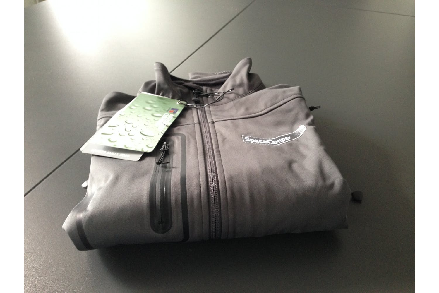 Jacket Spacecamper Grey
