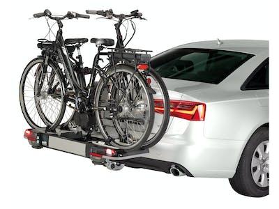 Ermöglicht die sichere Befestigung von bis zu zwei Fahrrädern.