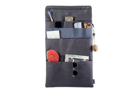 Vanluv STASH IT! Big Organizer in Dunkelgrau - Blau