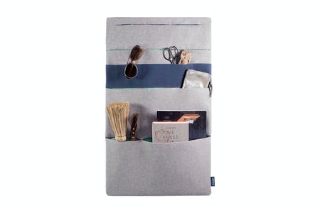 Vanluv STASH IT! Big Organizer Light Grey - Mint